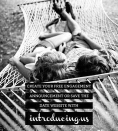 Create a Free Engagement Announcement or Save the Date with Introducing Us