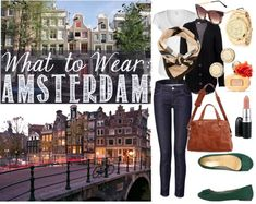 What to Wear in Amsterdam: Sunny Days