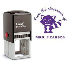 Purple Ink, From the Classroom of Teacher Stamp Raccoon L... https://www.amazon.com/dp/B01LXRGNEY/ref=cm_sw_r_pi_dp_x_XEdkybCF3E0GS