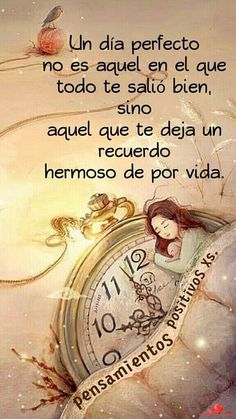 Un dia cto Motivational Phrases, Inspirational Quotes, Positive Quotes, Positive Vibes, Special Quotes, Morning Messages, Spanish Quotes, Beautiful Words, Wise Words