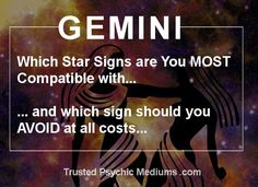 Gemini Dates and Compatibility are analysed in this exclusive report. You must read this before you ever consider dating a Gemini to avoid a dating disaster
