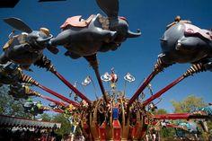 Dumbo attraction | Fantasyland | Disneyland Paris