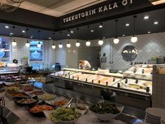 Tukkutorin kala  fish shop and resto #helsinki #finland
