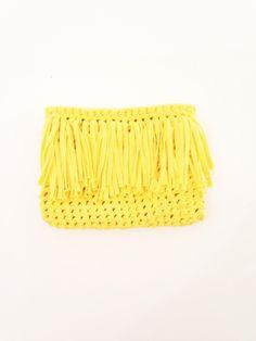 Cómo hacer un bolso de trapillo o clutch - Mary Mary Sweet Designs
