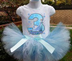Frozen tutu set Frozen birthday outfit Elsa & by MommiesKreationz