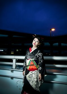 The photograph which I took.  #fashionportrait  #kyoto  #kimono