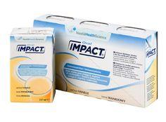Полноценная сбалансированная смесь IMPACT (Импакт) обогащена аргинином, омега-3 жирными кислотами и нуклеотидами, а также содержит жизненно необходимые витамины и микроэлементы. Иммунопитание IMPACT предназначено для коррекции клинического, метаболического и иммунологического статуса в пред- и послеоперационном периоде.