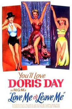 "Doris Day, James Cagney in "" Love me or Leave Me"", 1955"
