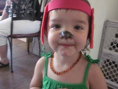 Parties By Marie: Go Dog Go Party for 2 year old. Love the dog ears and nose for all guests.