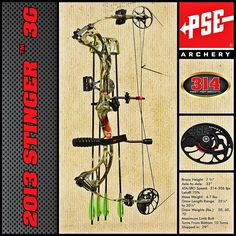 PSE Stinger 3G    http://www.cabelas.com A very nice compound indeed!