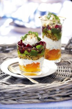 The Moroccan 7 layer dip!!!   I have to try.  I just can't read the recipe. ...:(
