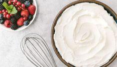 Bilderesultat for whipped cream bowl Cream Bowls, Homemade Whipped Cream, Heavy Whipping Cream, Whipped Topping, How To Make Homemade, Powdered Sugar, Dessert Recipes, Desserts, Icing