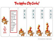 Dr. seuss printables and ideas 10 Apples Up On Top