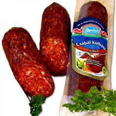 Hungarian Recipes, Hungarian Food, Abalone Recipe, Homemade Sausage Recipes, Good Food, Food And Drink, Meat, Hungary, Red Peppers