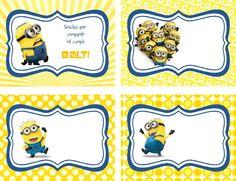 Tarjetas De Cumpleaños De Minions Para Ver Desde El Celular E Imprimir Gratis 6 HD Wallpapers