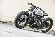 FAHRSTAHL — caferacerpasion:   Awesome! BMW R100 ‪Bobber‬ by...
