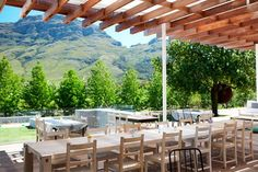 The Deli at Tokara is big on being child-friendly. It is the perfect place to have lunch with the entire family. Wedding Places, Wedding Venues, Vineyard Wedding, Just Go, Perfect Place, Wines, Pergola, Outdoor Structures, Patio