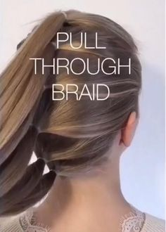Easy Hairstyles For Long Hair, Braids For Long Hair, Cute Hairstyles, Wedding Hairstyles, Engagement Hairstyles, Curly Hair, Easy Hair Braids, Braided Mohawk Hairstyles, Easy Toddler Hairstyles