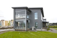 Honka Harmonia - a healthy home. Honka log homes.
