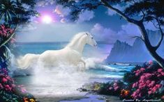All best random nature sceneries flowers sea sky painting 3d black trending inspiring whats new more animals wallpapers fantasy beautiful horses.. 660 x 495 click to see larger image.. 1024x800 1280x800 fit original.. 1024x800 1280x800 fit original.You can look new details of Fantasy Beautiful Fantasy Nature Horse Wallpaper by click this link : view details Beautiful Horse Pictures, Beautiful Horses, Animals Beautiful, Horse Wallpaper, Animal Wallpaper, Deer Photos, Free Horses, Unicorn Fantasy, Fantasy Castle