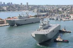 HMAS Adelaide commissioned into Royal Australian Navy