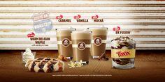 Burger King promotes new coffee range including caramel, vanilla and mocha