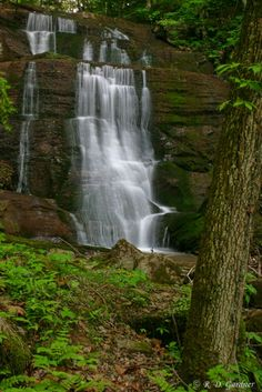 Bays Mountain Falls in Hawkins County, TN