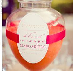Orange Signature Drinks - Blood orange #margarita for #cocktail hour