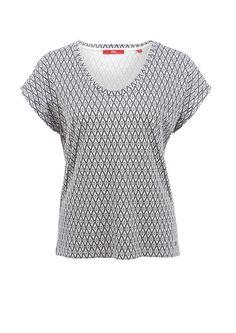 T-Shirt mit Musterprint von s.Oliver. Entdecken Sie jetzt topaktuelle Mode für…