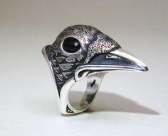 Raven Ring ( Etsy. )