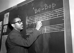 "Dizzy Gillespie ""Be-bop"" lessons 1940's"