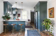 Spaces — Jacqueline Marque Photography Concrete Dining Table, Interior And Exterior, Interior Design, Kitchen Interior, Metal Canopy, Loft Spaces, Wide Plank, Kitchen Reno, Kitchen Ideas