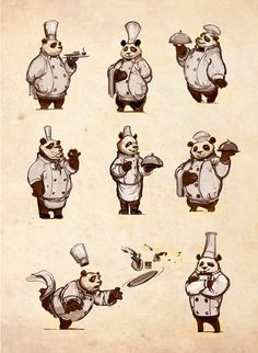 Panda chef by rs2128 on DeviantArt
