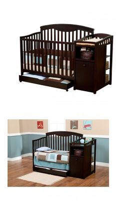 Convertible Baby Crib would be great for Kody