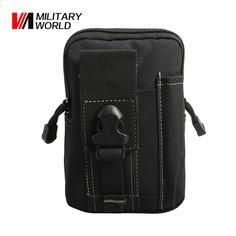 Taktické Molle pás pás pasu Utility Pouch Vojenský venkovní lezení kapesní  telefon Pouzdra Pouches Pack pro Iphone 7 Lovecké tašky 405845a7449