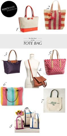 8 Tote Bags Perfect For Summer