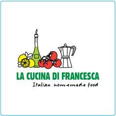 La Cucina di Francesca – logo design – graphic design – Designed by Tree