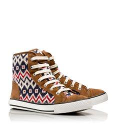 LOVE these Tory Burch Hi Top Sneakers!