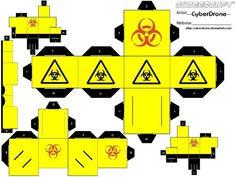 Cubee - Biohazard by CyberDrone.deviantart.com on @DeviantArt