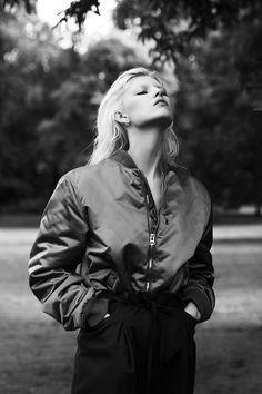 The bomber jacket…. Vamp Magazine #2, F/W 2014