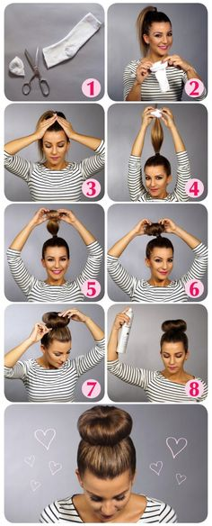 Perfect Hair Solution - Personal Guide For Your Hair Long Hair Tips, Long Curly Hair, Curly Hair Styles, Cool Easy Hairstyles, Loose Curls Hairstyles, Diy Haircut, Simple Ponytails, Stylish Hair, Hair Looks