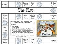 Jan Brett--The Hat comprehension game