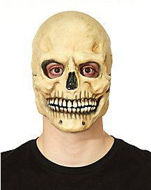 Over the Head Bone Skull Mask - Skull Mask, Halloween Accessories, Halloween Face Makeup, Birthday Parties, Skeletons, Bones, Coupons, Party, Anniversary Parties