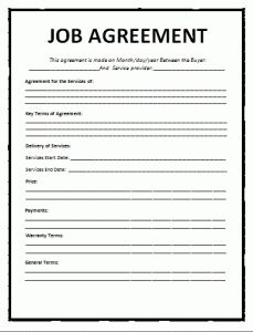 Employment Separation Certificate Form Awesome Educational Sponsorship Contract Template  Wordstemplates .