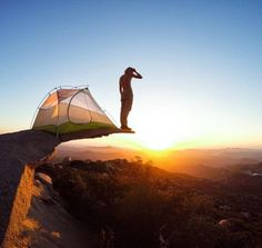 Pitch your tent with an epic view.