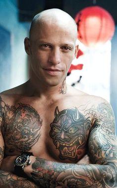 Ami James - tatuador estará no evento em SP  http://epoca.globo.com/colunas-e-blogs/bruno-astuto/noticia/2014/06/tatuador-bami-jamesb-sera-atracao-da-tattoo-week-em-sp.html (Foto: Omar Cruz )