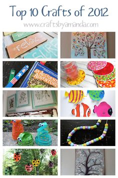 Top 10 Crafts of 2012, and Top 5 December Crafts