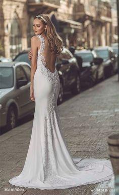 White Moriel Bridal 2016 Wedding Dress