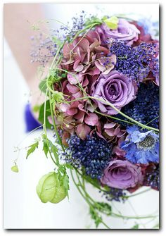 Love the green accent, makes the purples & blues much more Alive looking!