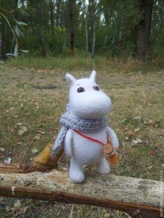 Купить Муми-тролль и осень.... - белый, муми-тролли, Муми-тролль, мумик, мумики